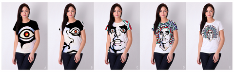 Limited Edition Alice Cooper T-Shirt's Concept Comps