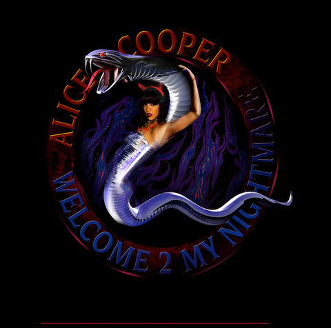 Alice Cooper - Welcome 2 MY Nightmare - Logo Comp