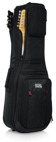 Gator Cases GPGELEC2X ProGo series Ultimate Gig Bag for 2 Electrics