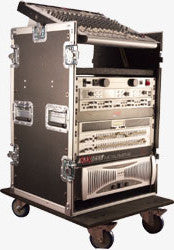 Gator Cases GTOUR10X14PU 10U Top  14U Side Audio Road Rack Case