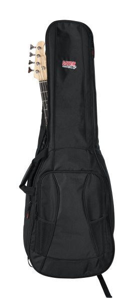 Gator Cases GB4GBASSX2 4G Series Gig Bag for 2x Bass Guitars