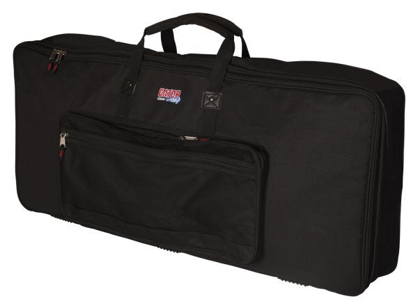 Gator Cases GKB88SLXL 88 Note Keyboard Gig Bag; Slim Extra Long Design