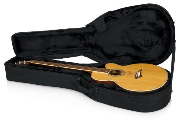 Gator Cases GLACBASS Acoustic Bass Guitar Lightweight Case