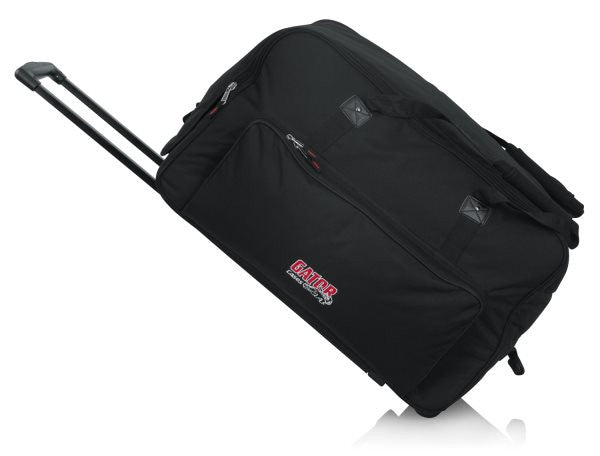 "Gator Cases GPA712LG Rolling speaker bag for large format 12"" speakers"