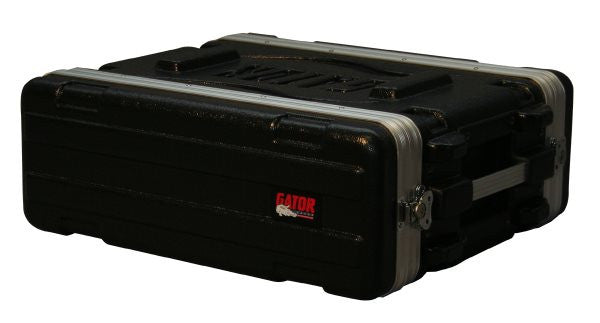 Gator Cases GR3S 3U Audio Rack; Shallow