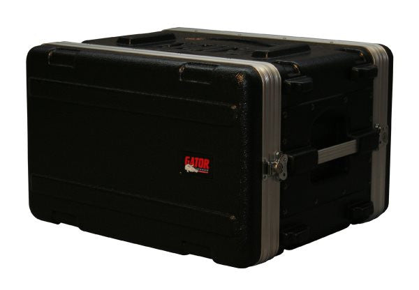 Gator Cases GR6S 6U Audio Rack; Shallow
