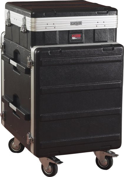 Gator Cases GRC10X12PU 10U Top  12U Side Console Audio Rack