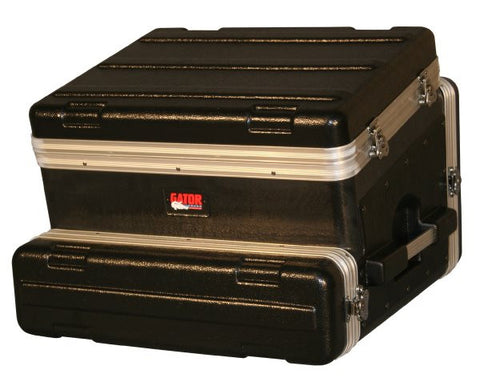 Gator Cases GRC8X2 8U Top  2U Side Console Audio Rack