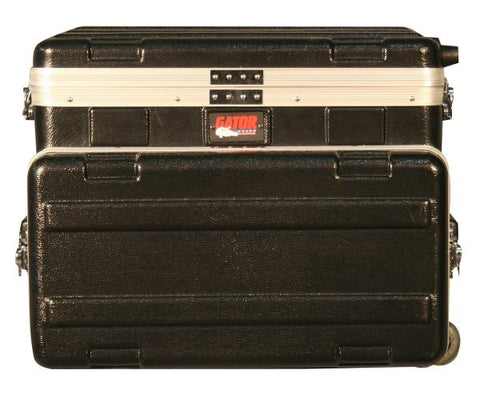 Gator Cases GRCSTUDIO4GOW ATA Laptop or Mixer Case Over 4U Audio Rack