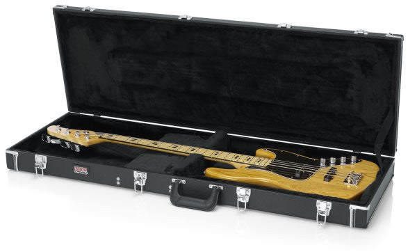 Gator Cases GWBASS Bass Guitar Deluxe Wood Case