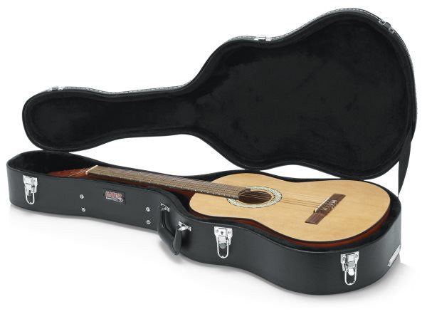 Gator Cases GWCLASSIC Classical Guitar Deluxe Wood Case