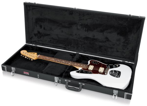 Gator Cases GWJAG Jaguar Style Guitar Deluxe Wood Case