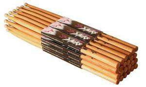On Stage AHW5A American Hickory Drum Sticks (5A, Wood Tip, 12pr)