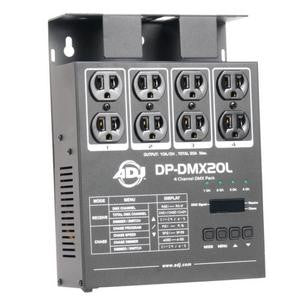 American Dj DPDMX20L 4 channel, DMX dimmer/switch pack. 600W per channel, digital DMX addressing, 1