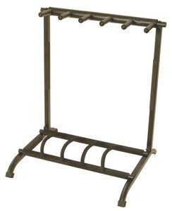 On Stage GS7561 5-Space Foldable Multi Guitar Rack