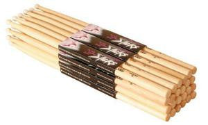On Stage HN5A Hickory Drum Sticks (5A, Nylon Tip, 12pr)