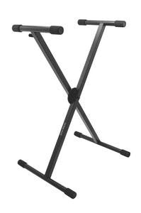 On Stage KS7290 Pro Heavy-Duty Single-X ERGO-LOKKeyboard Stand