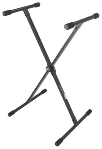 On Stage KS8190 Lok-Tight Classic Single-X Keyboard Stand