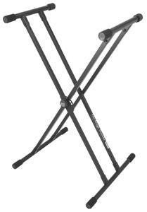 On Stage KS8191 Lok-Tight Classic Double-X Keyboard Stand