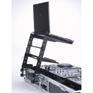 American Audio UNILTS Laptop Stand with Sound Card Shelf. Clamps for Multiple mounting options