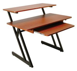 On Stage WS7500RB WS7500 Series Wood Workstation (Rosewood/Black Steel)