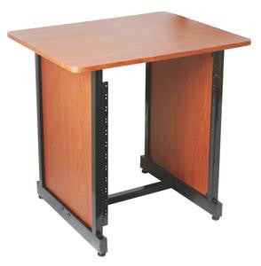 On Stage WSR7500RB WS7500 Series Workstation Rack Cabinet (Rosewood)