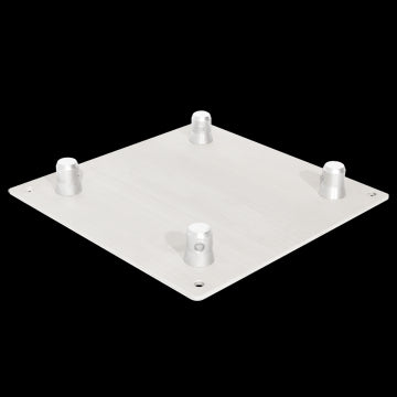 "Trusst CT2904112B 12"" Aluminum Base Plate (includes 1 set of half-conical connectors.)"