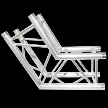 "Trusst CT2904120C 290 mm (12"") Truss;  2-Way;  120° Corner (6pc makes a hexagon)(includes 1 set of"