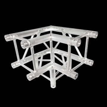 "Trusst CT2904390C 290 mm (12"") Truss;  3-Way;  90° Corner (inc. 1 set of connectors)"