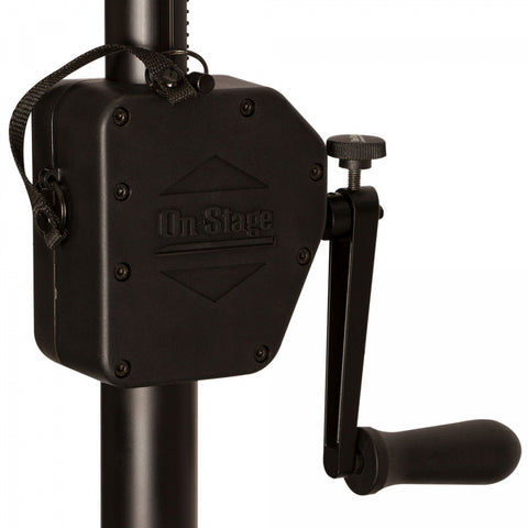 On Stage LS7805QIK Power Crank-Up Lighting Stand