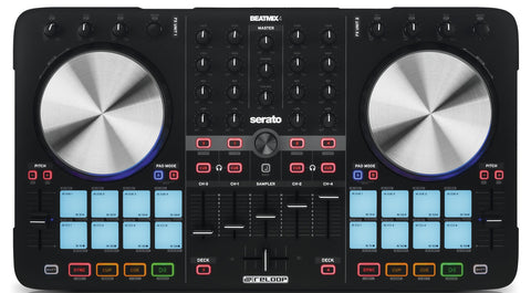Reloop BeatMix4 MK2 - 4 Channel DJ Controller for Serato DJ