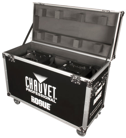 Chauvet Pro 2-Fixture Roadcase for RH1 Hybrid