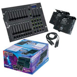 American DJ STAGEPAK1 2 X DP-415 (4 ch. DMX Dimmer/Switch Pack) 1x Stage Setter-8, 2x XLR cable, 2x DP-415                 - Image 1
