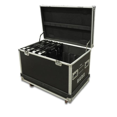 American Dj AV3FC 8pc. flight case for AV3