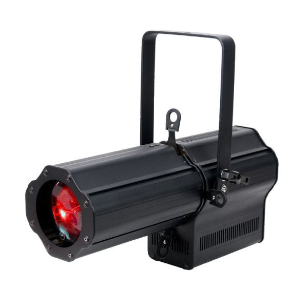 American Dj ENCOREPRFL1KCLR 120 watt COB RGBW ellipsoidal, sharp or soft edge beam, manualfocus, ma