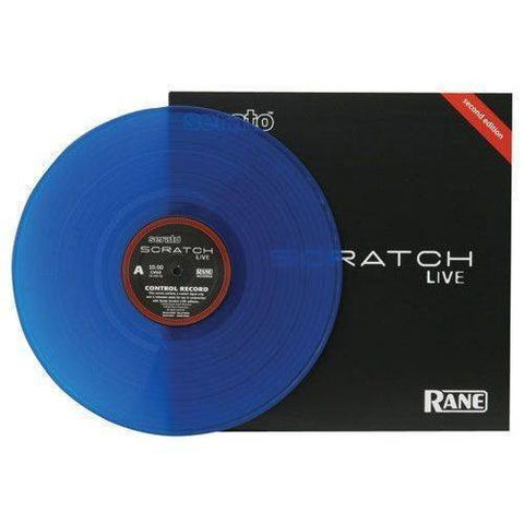 Rane VINYLBLUE Control Vinyl Record for Serato