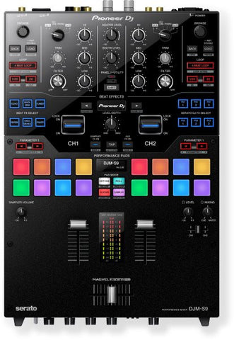 Pioneer DJMS9 PROFESSIONAL 2-CHANNEL BATTLE MIXER