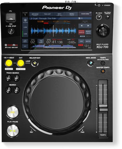 Pioneer XDJ700 COMPACT DIGITAL MULTI PLAYER