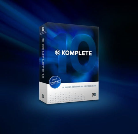 Native Instruments 22974 Komplete 10 EDU Add On License