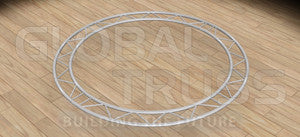Global Truss IBC15H180 1.5M (4.92FT) Horizontal Circle (2 X 180 Degree Arcs)