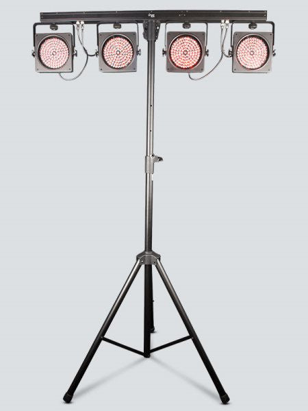 Chauvet Dj 4BARUSB 4BAR USBIncludes: Carry Bag, Tripod, Tripod Carry Bag, Footswitch
