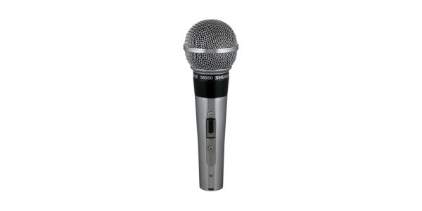 Shure 565SDLC Cardioid Dynamic, Vocal, On/off switch, Microphone clip