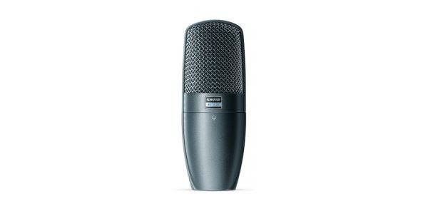 Shure BETA27 Supercardioid,Condensr,Side-address for instrumnt&vocal,ShureLock swivel mnt,Hard shell