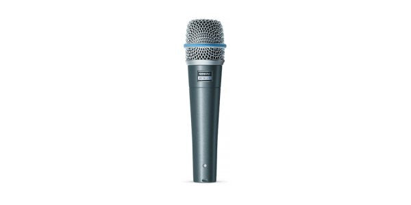 Shure BETA57A Supercardioid Dynamic with High Output Neodymium Cartridge, for Vocal and Instrument,