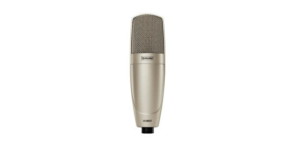 Shure KSM32CG Cardioid Condenser, Stage Model, ShureLock swivel mount, Zippered foam carrying case(Charco