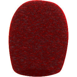 Electro Voice 3792 Red windscreen pop filter for RE16, RE50, N/D967, 767a, 367s, 267a, RE410 and RE