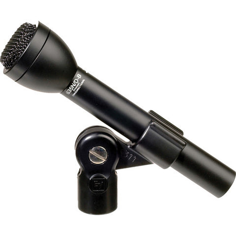 Electro Voice 635NDB N/DYM® dynamic omnidirectional interview microphone, black