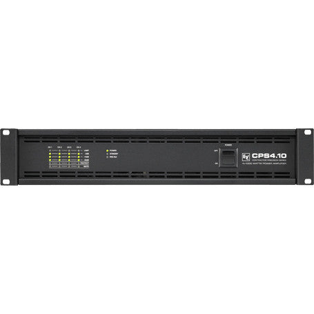 Electro Voice CPS410120V CPS4.10 4-Channel Power Amplifier, 4 x 1000W into 2, or 4 Ohms, or 70V/100
