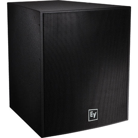 Electro Voice EVF1181SFGB SINGLE 18IN, 400 WATT SUBWOOFER SYSTEM, FIBERGLASS, BLACK, EXTERNAL CROSS