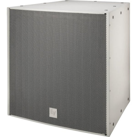Electro Voice EVF2151DWHT DUAL 15IN, 1000 WATT SUBWOOFER SYSTEM, EVCOAT, WHITE, EXTERNAL CROSSOVER